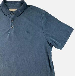 Tommy Bahama Mens Polo Short Sleeve Blue Shirt XL